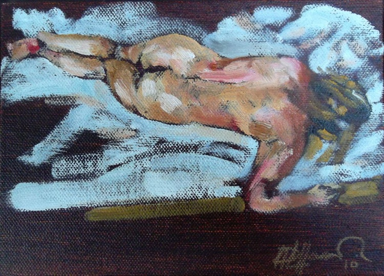 Study for Sleeping Figure - Image 0