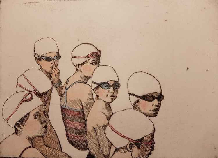 Swimmers -