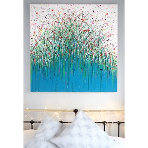 Aqua Meadow by Charlotte Anna Reed