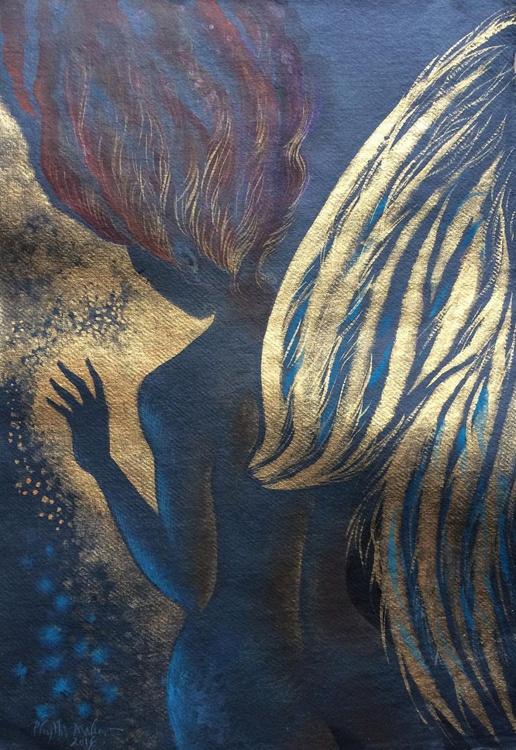 Angel dark, angel gold - Image 0