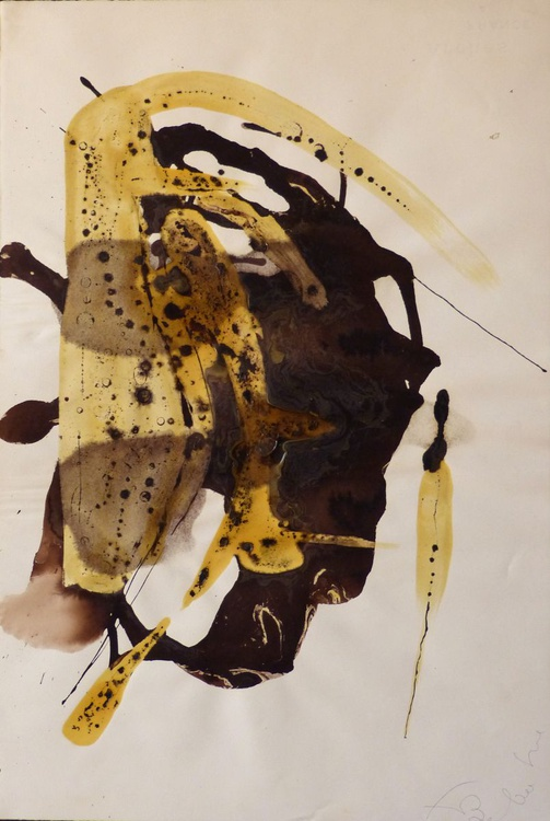 Head of Varnish, 39x57 cm - Image 0