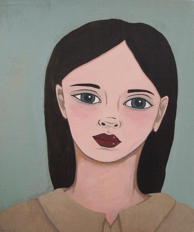 Portrait with Black Hair 2 - Image 0