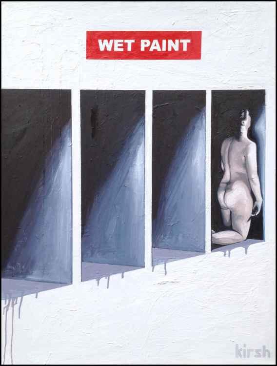 Wet Paint -