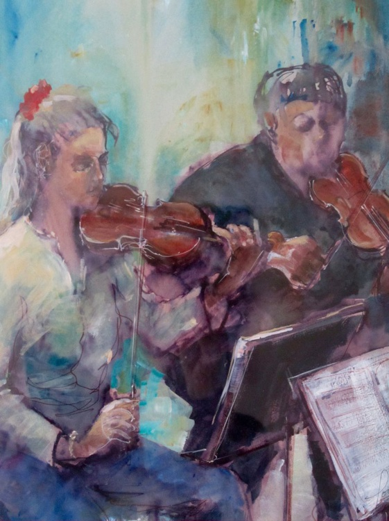 MUSIC STUDENTS REHEARSING - Image 0