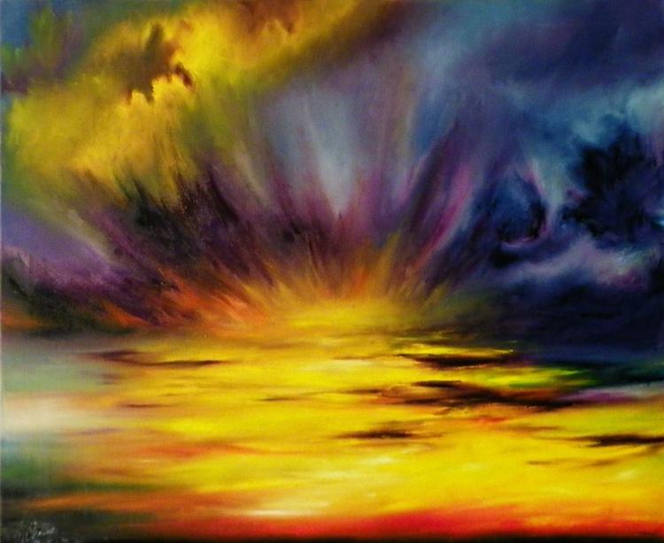 Burning sky #2 - Image 0
