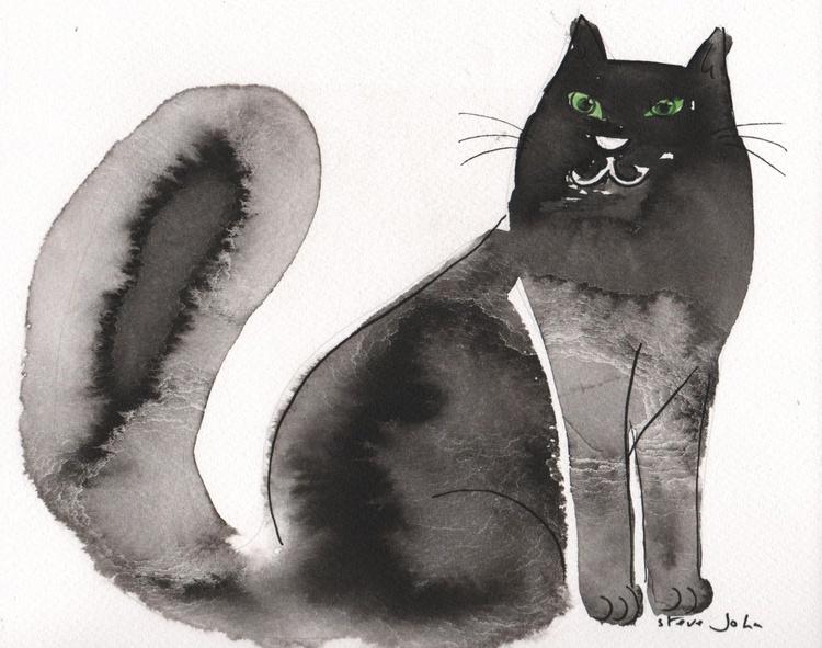Stanley the cat, cartoon - Image 0