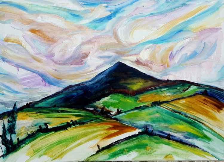 The Distant peak -
