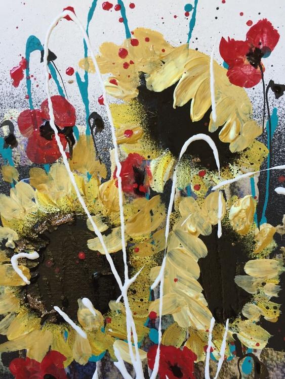 Sunflowers ( framed ) - Image 0