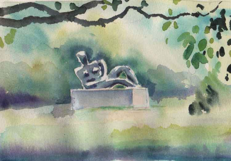 Henry Moore Sculpture, Kew Gardens