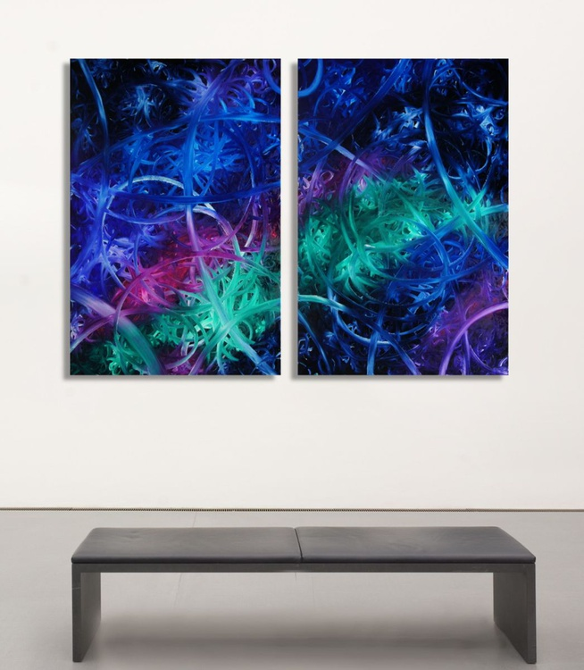 Left Spin & Right Spin (Diptych) - Image 0