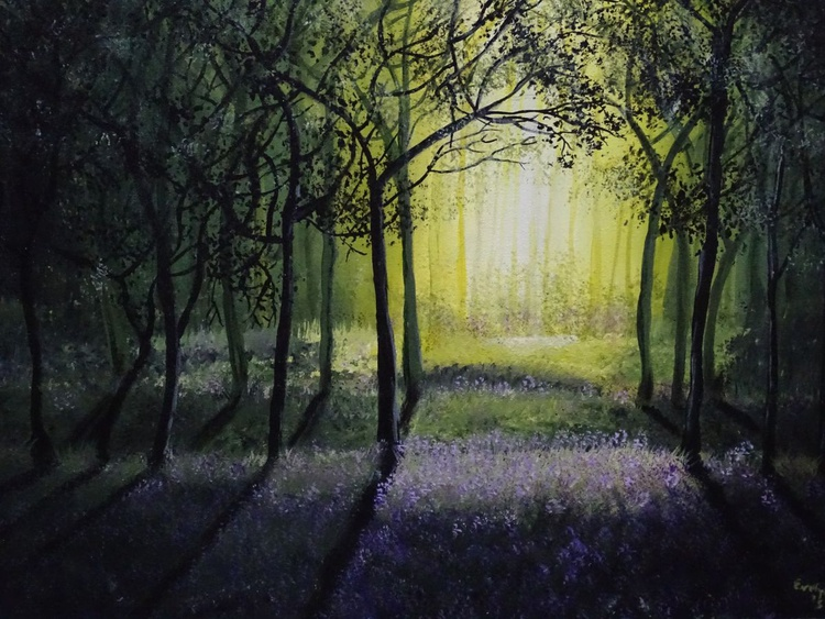Morning light in the wood - Image 0