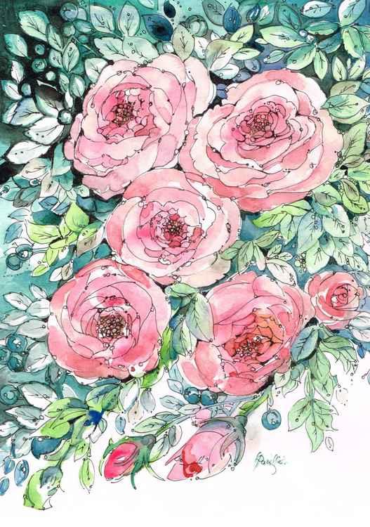 Romantic Roses -