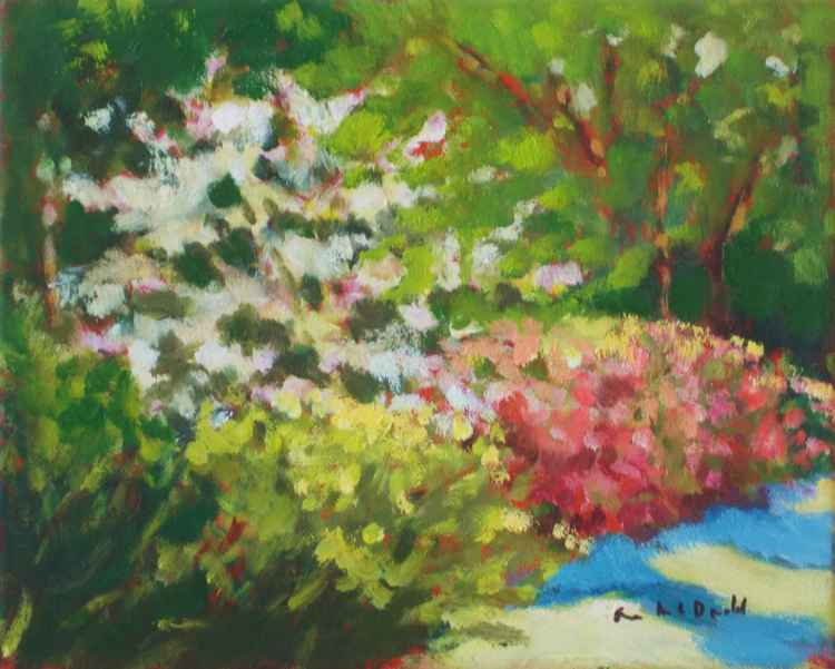 Southern Dogwood and Azaleas - Open to Offer