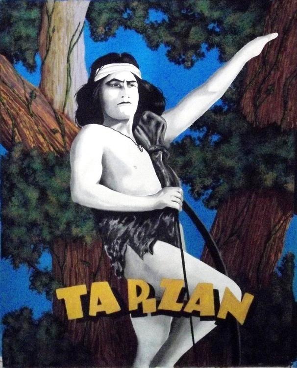 The Original Tarzan - Elmo Lincoln - Image 0