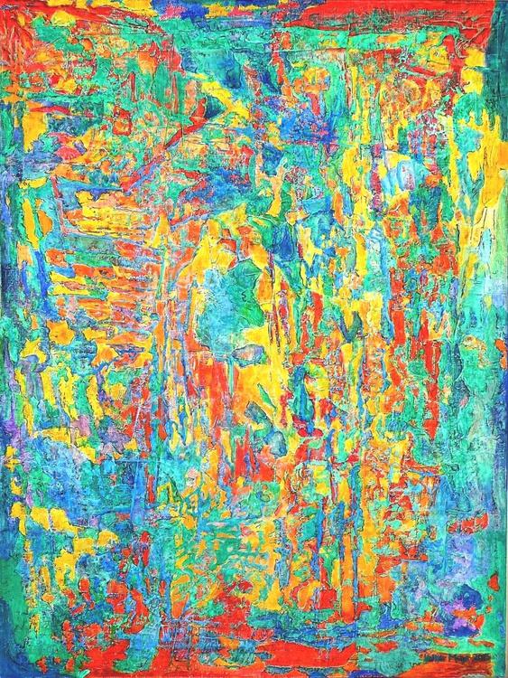 Dschungel - Ölbild 60 x 80 cm - Image 0