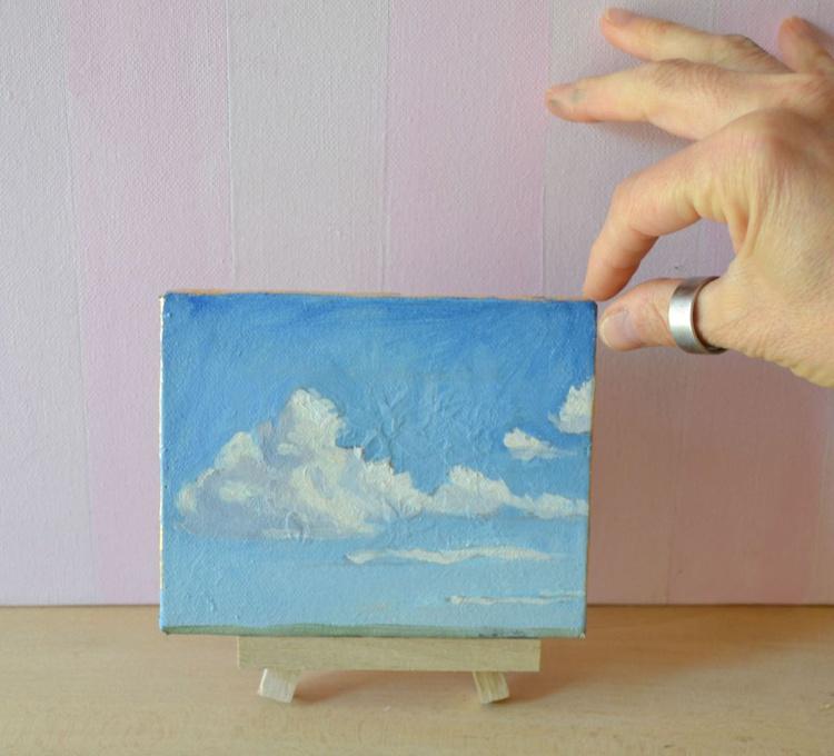 Mini Cloud Painting Italian Oil Landscape - Image 0