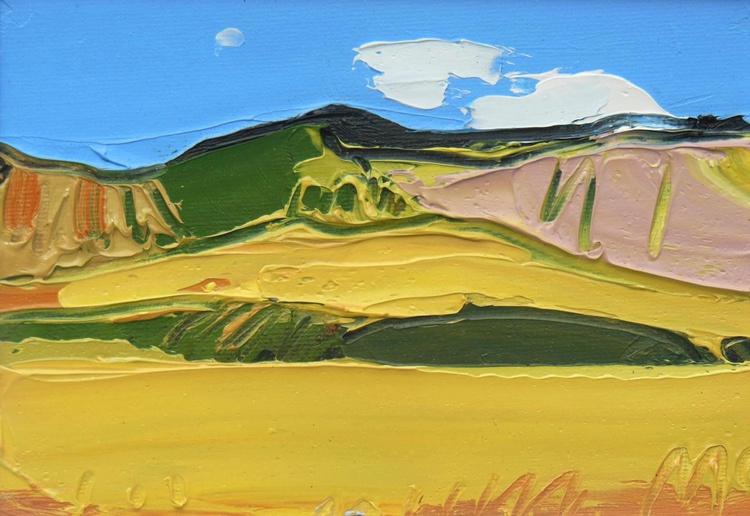 Grass, Hills and Sky - Maluti Mountains - Image 0