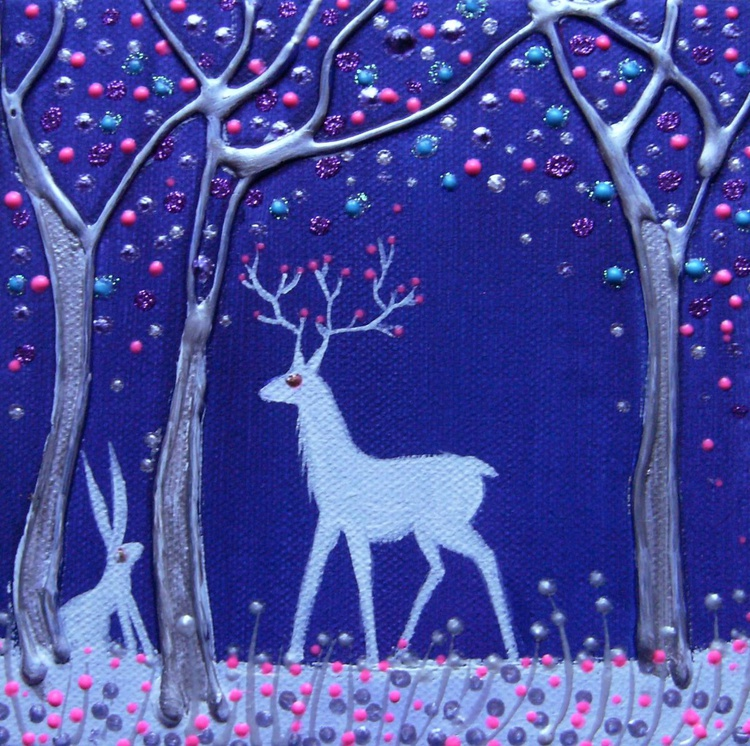 Stag and hare - Image 0