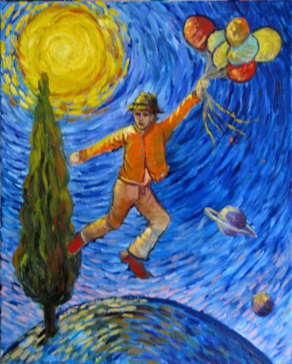 Van Goch is two steps away from Saturn -