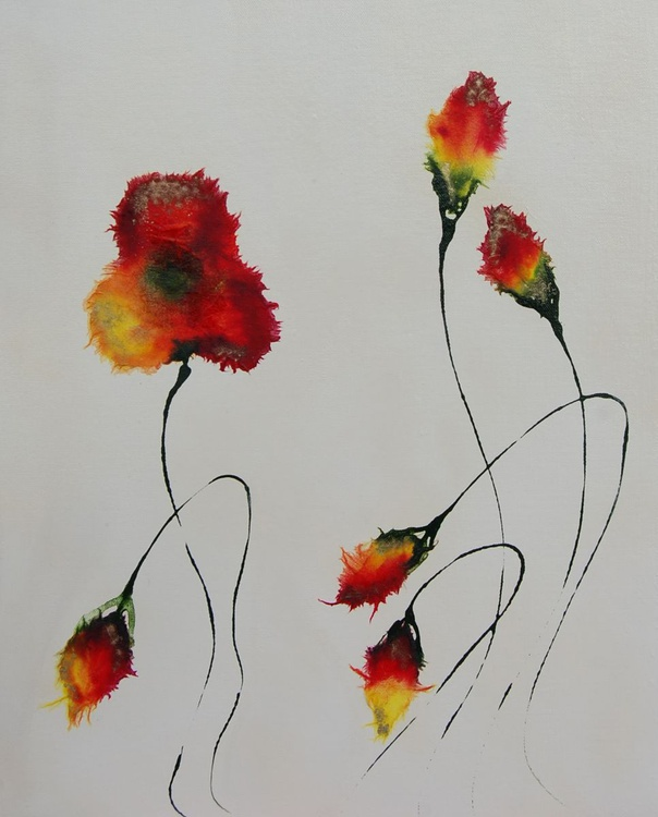 Shimmering Poppies 2 - Image 0