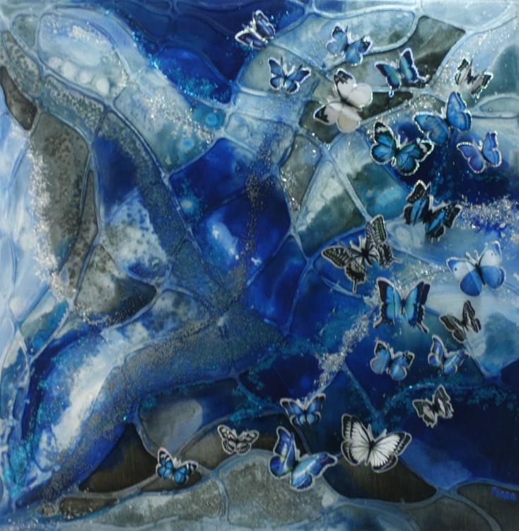 Blue Butterflies - Image 0