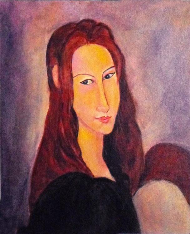 Jeanne Hébuterne of Modigliani - Image 0