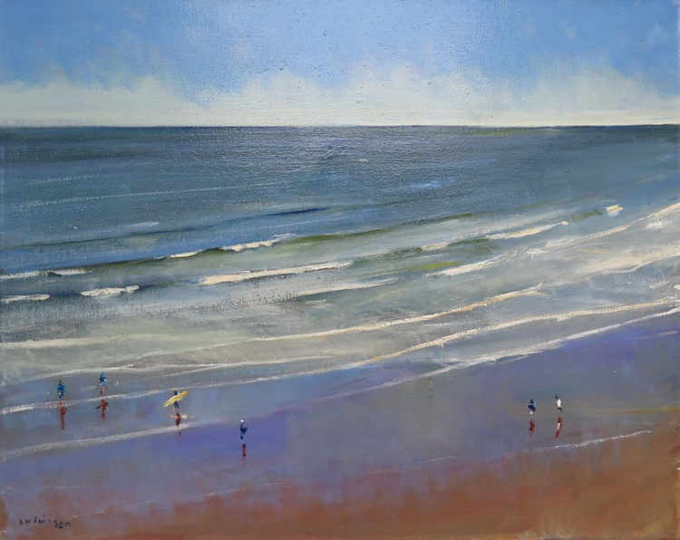 Reflections in Scarborough Beach - Image 0