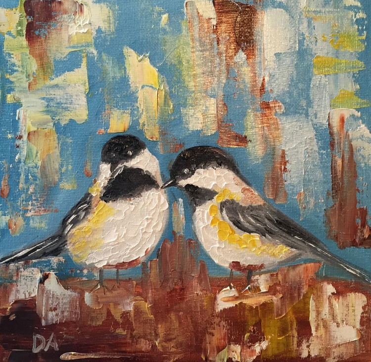 Two Little Chickadees - Image 0