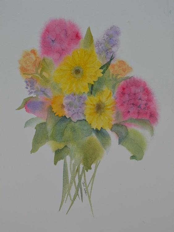 Summer Bouquet - Original Watercolour - Image 0