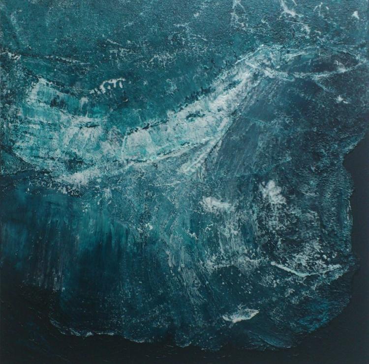 Atlantic Waves #15026 (50x50cm) - Image 0