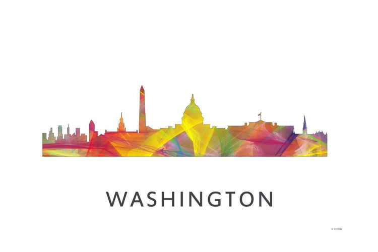 Washington DC Skyline WB1 -