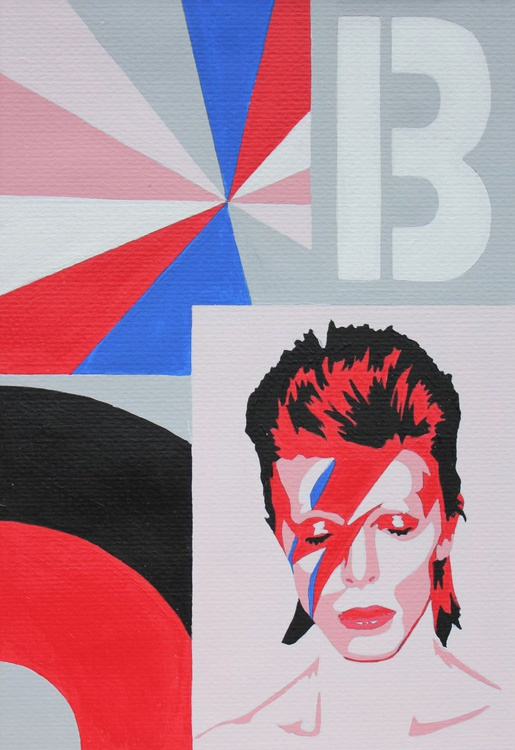 Wave of Phase, a portrait of David Bowie - Image 0