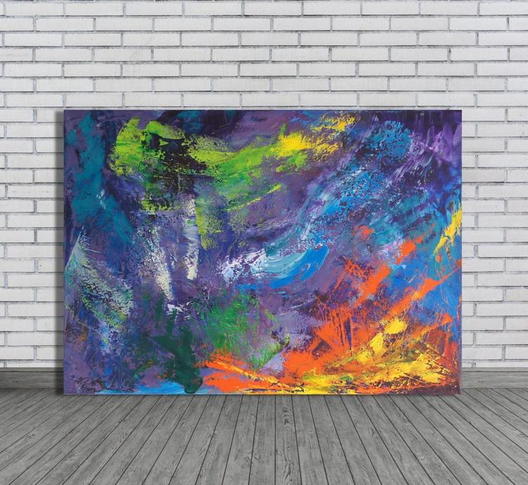 Color's Last Refuge 2 (70 x 50 cm) - Image 0