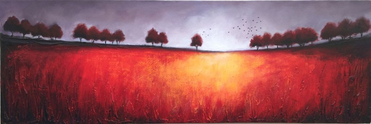 Red treeline - Image 0