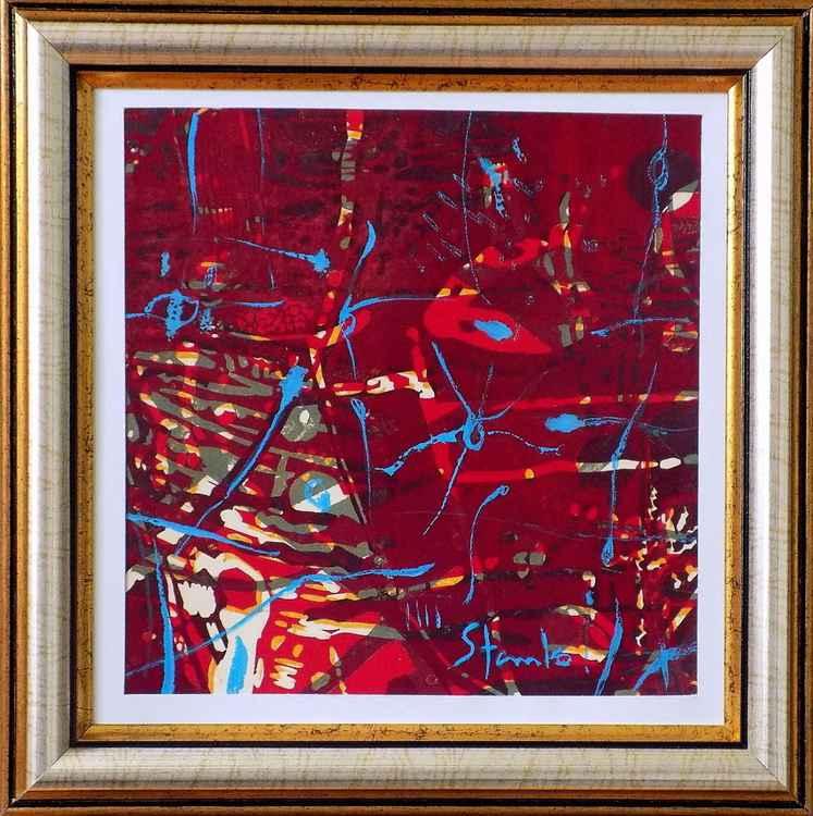 Abstract(illuminations in a purple night)-III