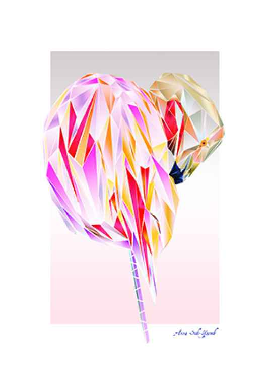 Flamingo / Digital work -
