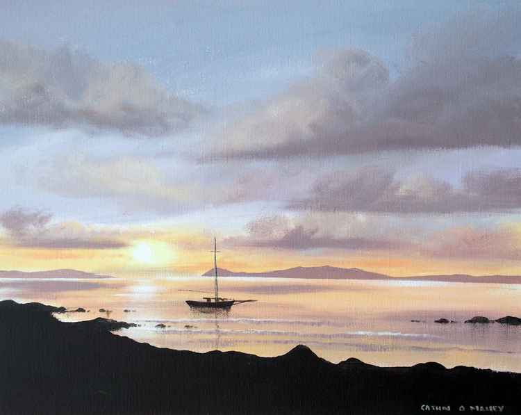 inishbofin sunset -