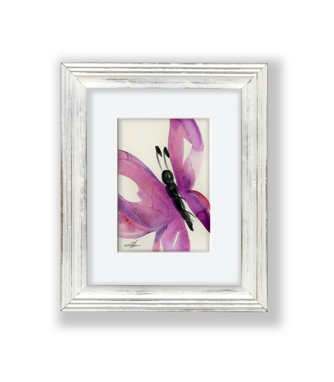 Butterfly Watercolor 3 - Abstract by Kathy Morton Stanion - Image 0