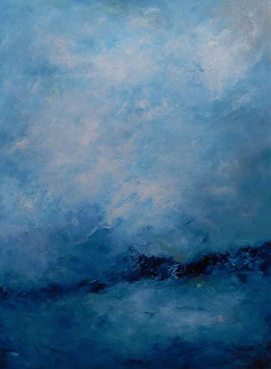 Blue ocean blue sky -