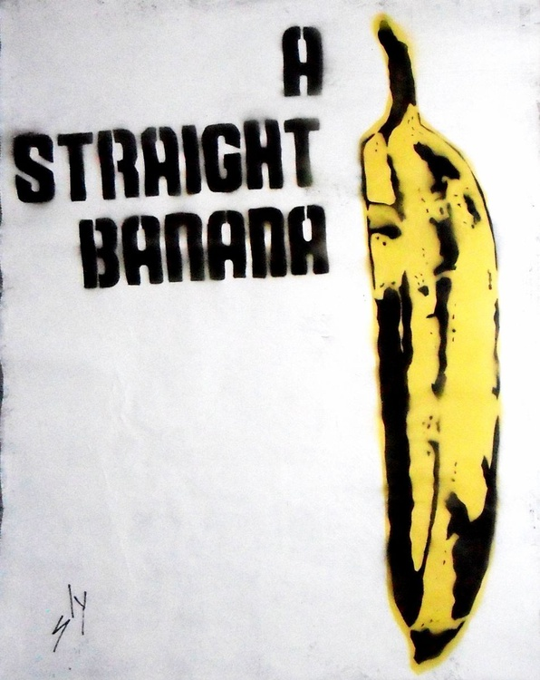 Straight Banana (on The Daily Telegraph) - Image 0