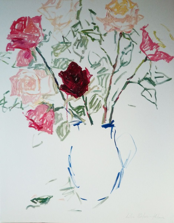 Bouquet of roses. - Image 0