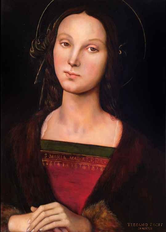 """""""Maria Magdalena"""", after Perugino"""