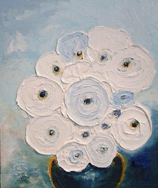 Waxy White Flowers 2 - Image 0