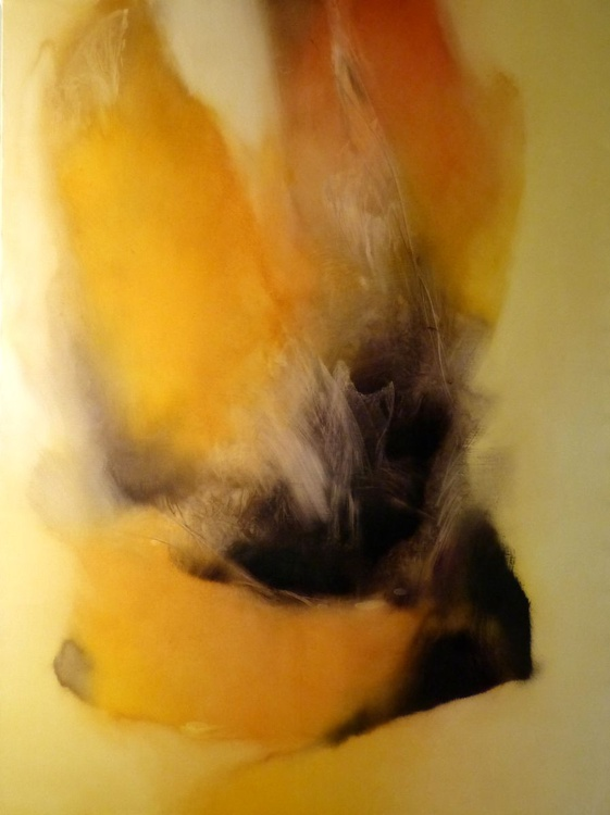 The Flame of Uncertainty, oil on canvas 130x97cm - Image 0
