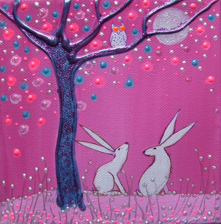 Two little hares - Image 0