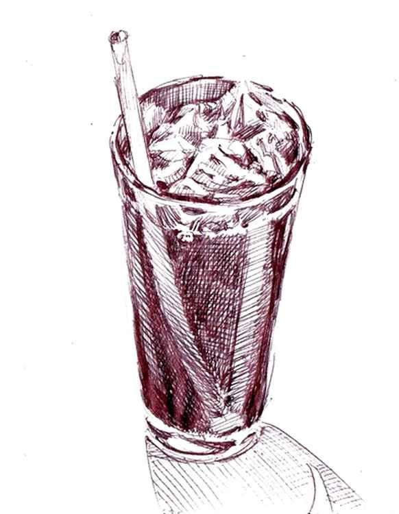 Soda Glass at Bar