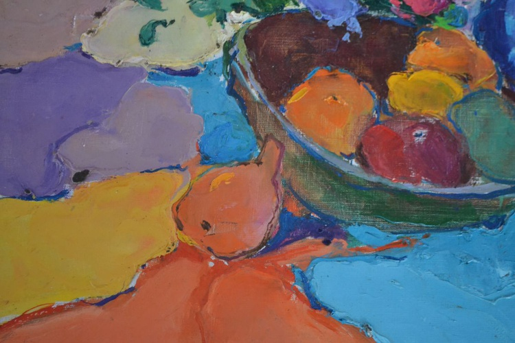 Still life with pomegranate - Image 0