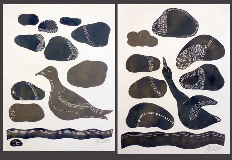 pair of Goose prints - Image 0