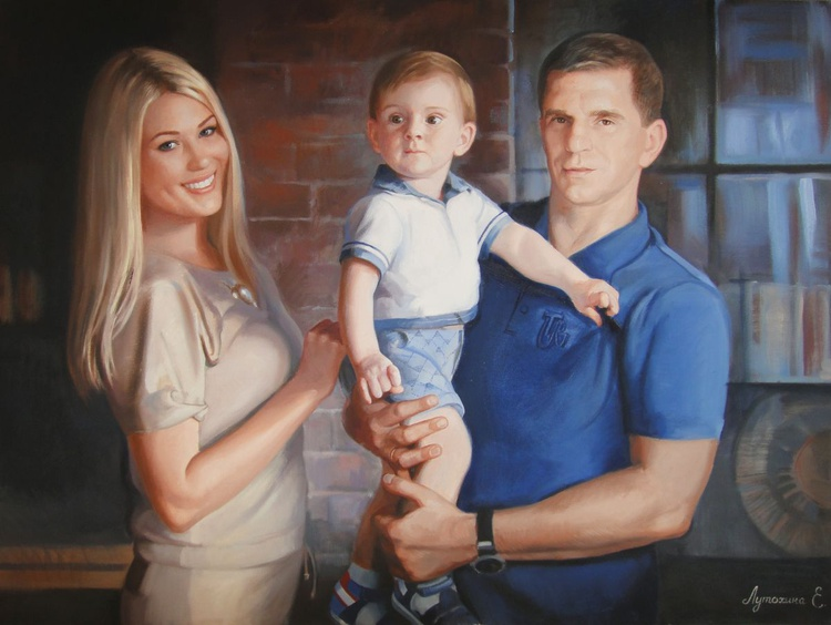 Portrait of a family (on order) - Image 0
