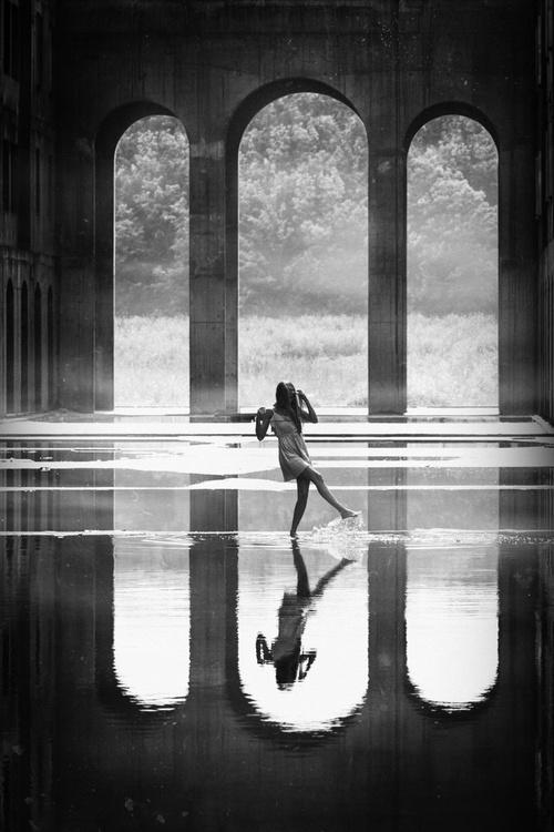 Mirror Dance II. *READY TO HANG* - Image 0